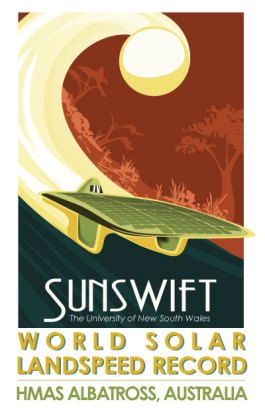 Sunswift World Solar Car Record